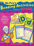 Reading Activities K-1's thumbnail