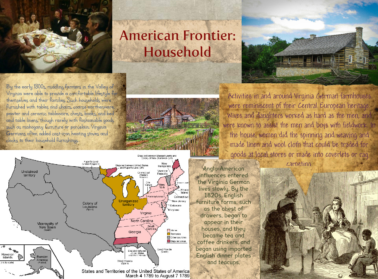 American Frontier: Household