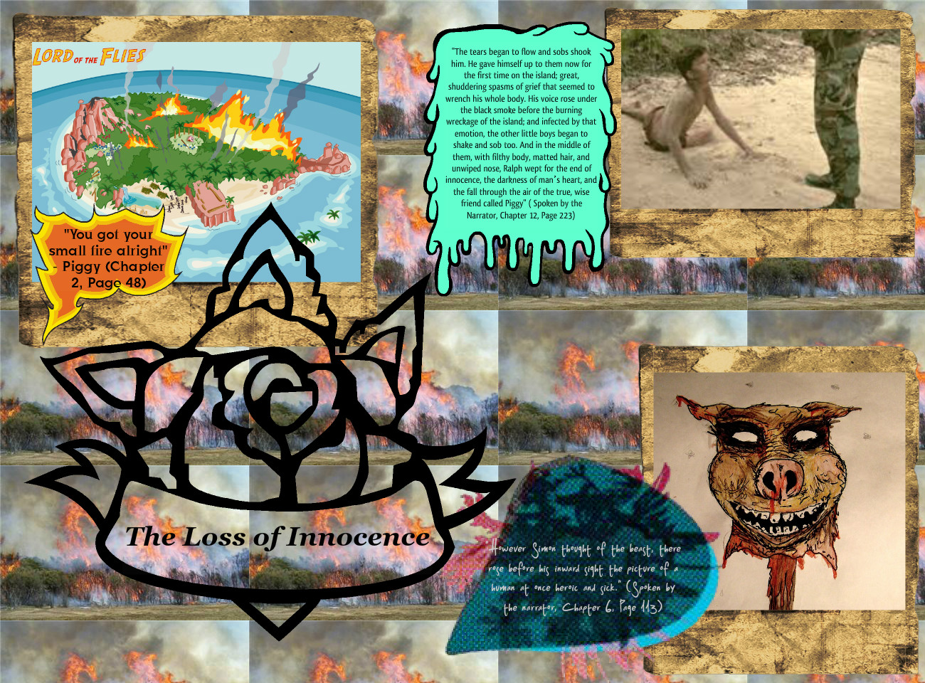 Lord of the Flies: The Loss of Innocence - Visual Presentation