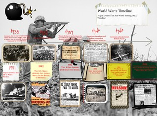 [2014] Caylee Whitehorn: World War 2 Timeline