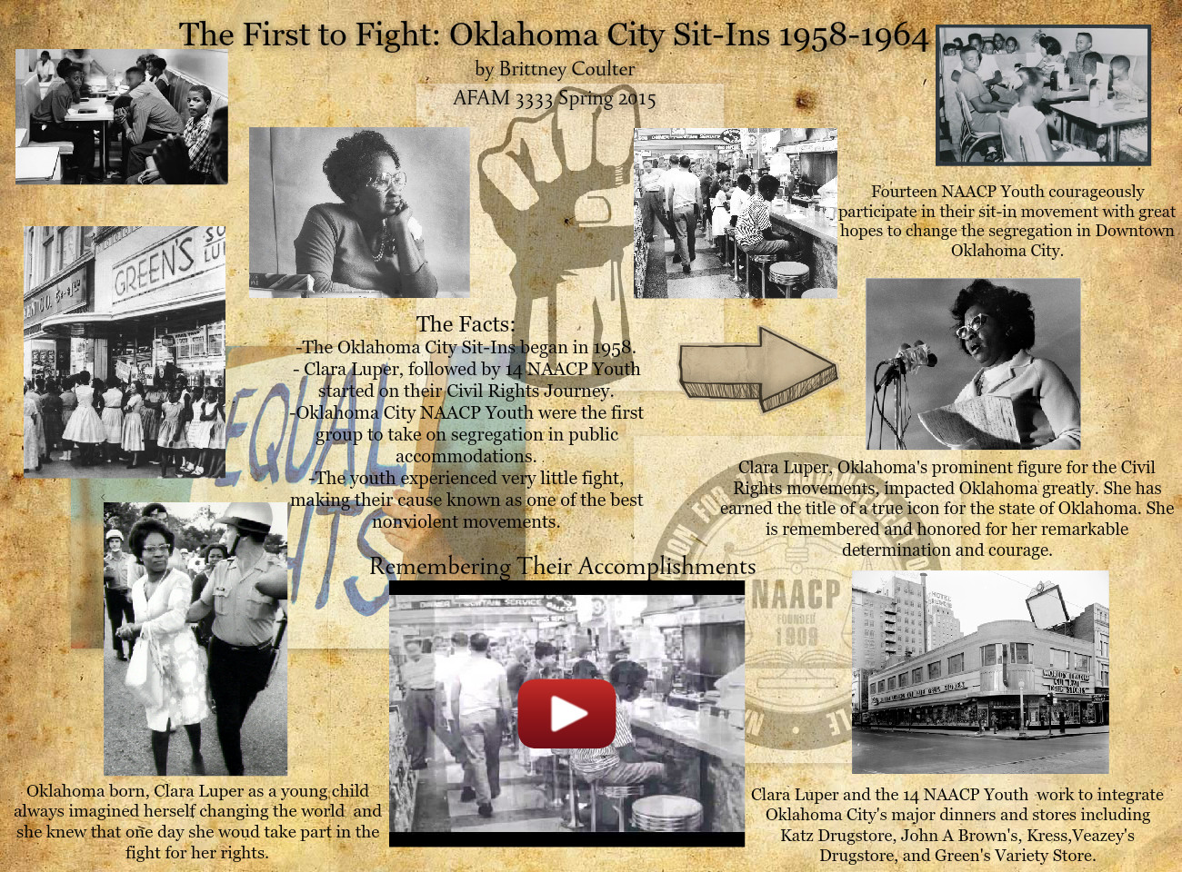 [2015] Brittney Coulter: The First to Fight: Oklahoma City