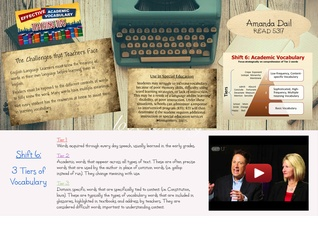 Vocabulary Project - READ 5317